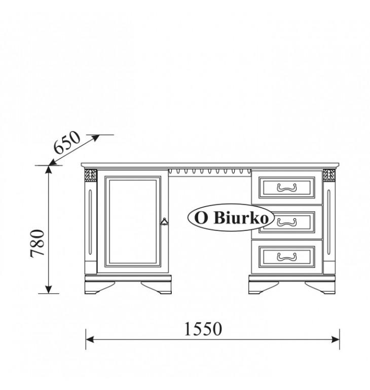 Rašomasis stalas O-B