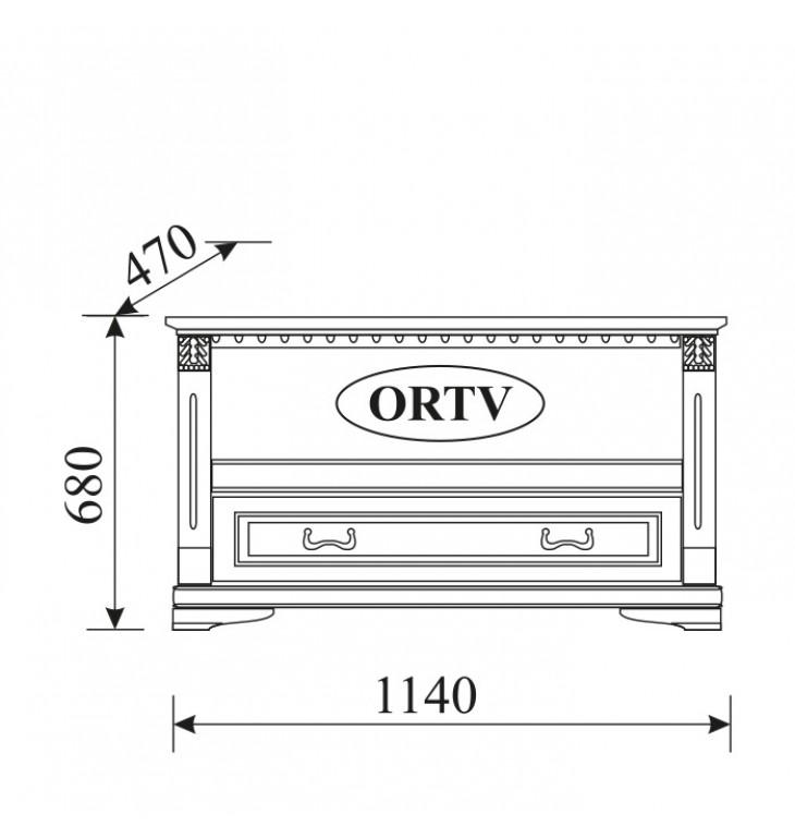 TV staliukas O-RTV